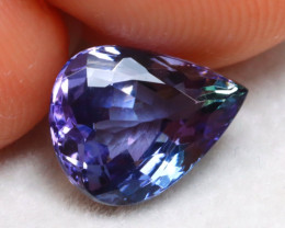 Tanzanite 1.71Ct Natural VVS Purplish Blue Tanzanite E0724