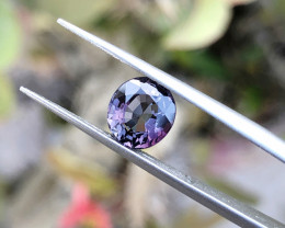 1.80 Ct Natural Purple Transparent Spinal Gemstone