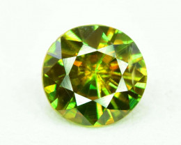 1.05 carats AAA Color Full Fire Mossy Green Sparkles Natural Chrome Sphene