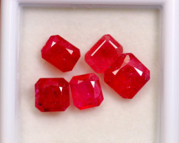 5.82cts Blood Red Colour Ruby Lots / RD111