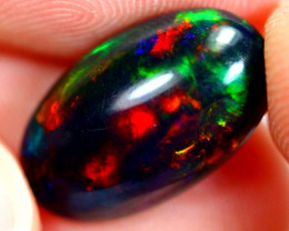 3.00cts Natural Ethiopian Smoked Black Opal / RD113