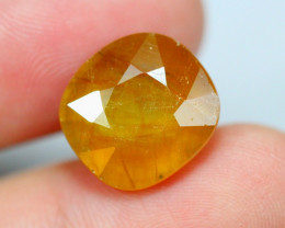 11.35cts Yellow Colour Sapphire / RD129