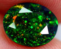 1.09cts Natural Ethiopian Smoked Black Opal / RD130