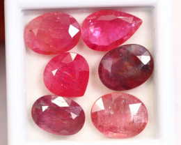 14.83cts Blood Red Colour Ruby Lots / RD145