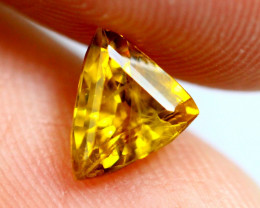 0.90cts Natural Yellow Colour Sapphire / RD146