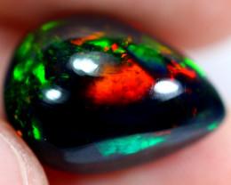 4.60cts Natural Ethiopian Smoked Black Opal / RD174