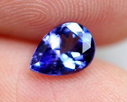 0.88cts Natural Violet Blue D Block Tanzanite / RD185