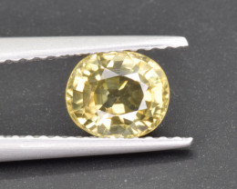 Natural Zircon 1.26 Cts Top Luster Gemstone