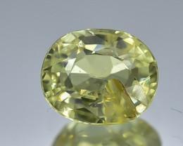 0.76 Crt Natural Chrysoberyl Faceted Gemstone.( AB 09)