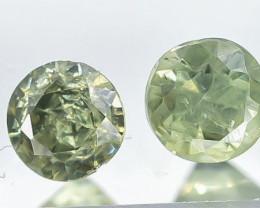 0.28 Crt Natural Demantoid Garnet Faceted Gemstone.( AB 09)