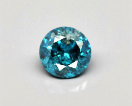 0.10 - Fancy Blue Diamond - Africa