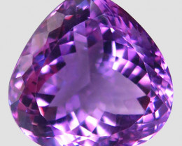 22.31Ct. Natural Rich Purple Amethyst Uruguay  Dazzling Unheated