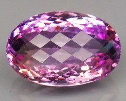 19.85Ct. Natural Bi Color Ametrine Bolivia  Unheated