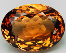 23.50 ct. Top Quality 100% Natural Topaz Orangey Brown Brazil