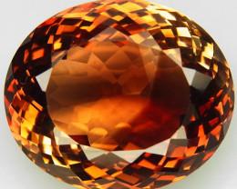 41.45 ct. Top Quality 100% Natural Topaz Orangey Brown Brazil