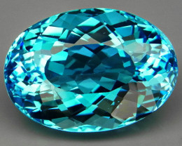 27.42 ct. 100% Natural Earth Mined  Top Quality Blue Topaz Brazil