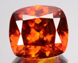22.62 Cts Natural Fire Sunset Red Sphalerite Cushion Cut Spain Gem