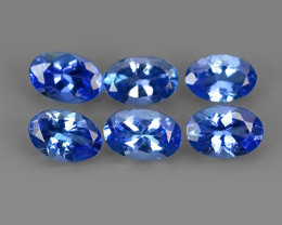 2.60 CTS MATCHING MIND BOGGLING NATURAL RICH FIRE RARE-TANZANITE
