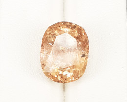 14.77 cts Natural Imperial Topaz from Katlang Mine Pakistan Facetted Gem.