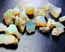 34.40 CT Natural - Unheated Opal  Rough Lot