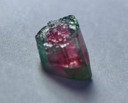 4.05 Cts Beautiful, Superb Bi Tourmaline Crystal Rough