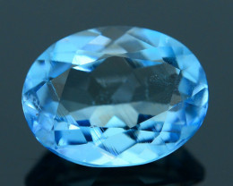 AAA 1.72 ct  Santa Maria Aquamarine Attractive Color