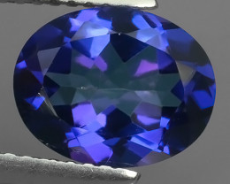 3.25 CTS WONDERFUL TANZANITE COLOR COTED TOPAZ