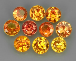 1.80 CTS EXCELLENT NATURAL RARE FANCY -YELLOWISH-ORANGE MADAGASCAR SAPPHIRE
