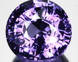 ~GORGEOUS~ 7.10 Cts Natural Bluish Purple Spinel Round Cut Sri Lanka