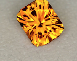 Citrine 6.32 ct Brazil GPC Lab
