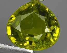 2.35 CTS~STYLISH TOP NEW RARE NATURAL GREEN MALI GARNET!!!