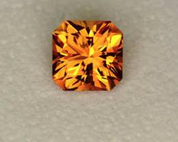 Citrine 4.39 ct Brazil GPC Lab