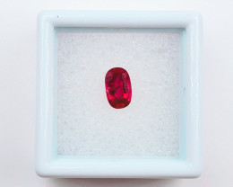 ON SALE! 1.16 CT CERTIFIED BURMESE RED RUBY FACETED GEMSTONE