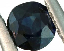 0.35 CTS -  AUSTRALIAN BLUE SAPPHIRE   CG-2823