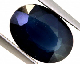 3.16-CTS AUSTRALIAN  BLUE SAPPHIRE  FACETED PG-3209