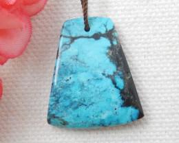22cts Beautiful Turquoise ,Handmade Gemstone ,Turquoise Nugget Pendant  E71