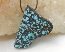 25cts Turquoise Pendant ,Natural Gemstone ,Turquoise Nugget Pendant E712