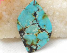 27.5cts Turquoise Pendant ,Natural Gemstone ,Turquoise Nugget Pendant E702