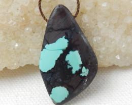 43cts Natural Turquoise Pendant ,Beautiful Gemstone ,Turquoise  Pendant E71