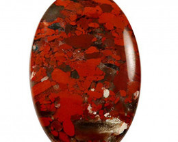 Red Rainbow Jasper Natural Gemstone Oval Loose Cabochon