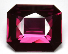 Certified 3.32 Cts ~BEAUTIFUL~ Natural Purplish Pink Spinel Octagon Srilank