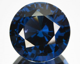5.03 Cts Natural Cobalt Blue Spinel Srilanka 10 MM Round Gem