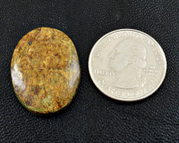 Genuine 28.00 Cts Bronzite Oval Shape Cabochon
