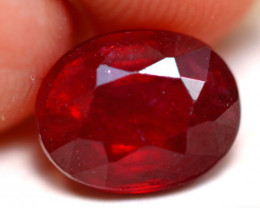 Ruby 2.62Ct Madagascar Blood Red Ruby D1004