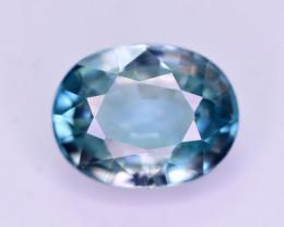 Vibrant Blue ~ 3.30 Ct Natural Zircon From Cambodia. RA1