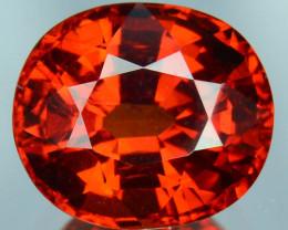 ~FABULOUS~ 4.39 Cts Natural Mandrain Red Spessartite Garnet Oval Cut Namibi