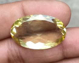 20.30 CT LEMON QUARTZ Top Quality Gemstone Natural Untreated VA4542