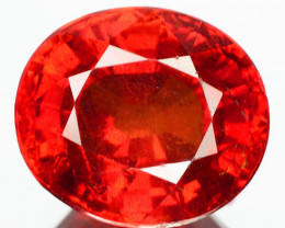 3.99 Cts SMASSIVE NATURAL RED SPESSARTITE GARNET NAMIBIA (Video Avl)
