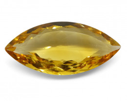16.09 ct Marquise Citrine-$1 NR Auction