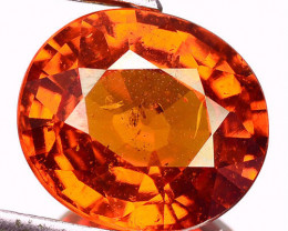 6.37 Cts Unheated Natural Mandarin Orange Spessartite Garnet OvalCut Namibi